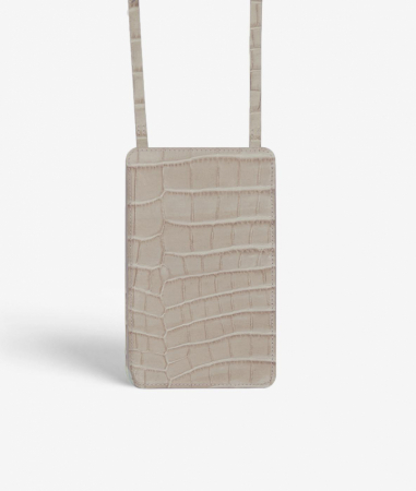 The Smart Crossbody Bag Crocodile Mastice