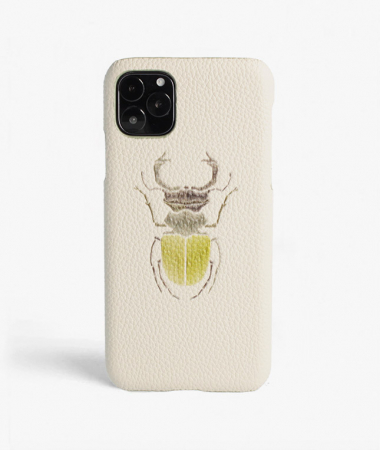 iPhone 11 Pro Beetle Calf Mastice
