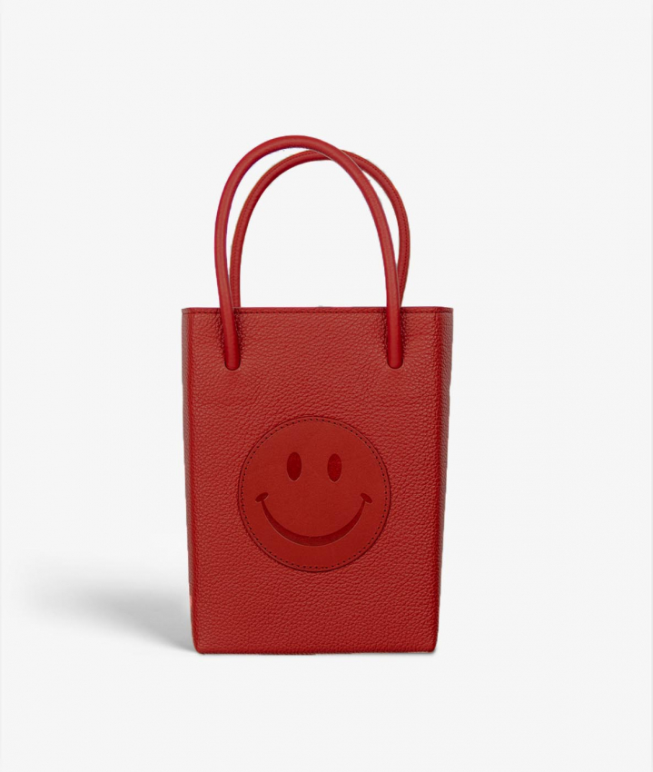 The Essential Crossbody Bag Smiley Drummed Scarlett